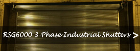 The product page of our 3-phase industrial roller shutters