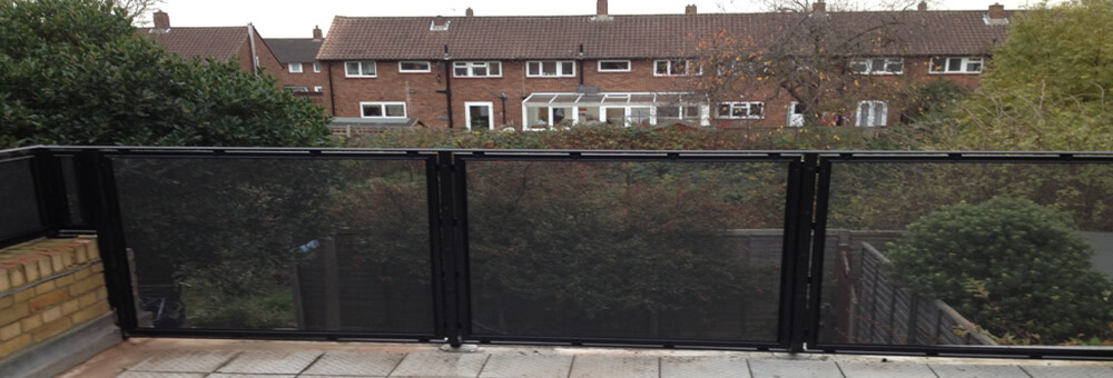 RSG security barriers providing safety to residents in Morden