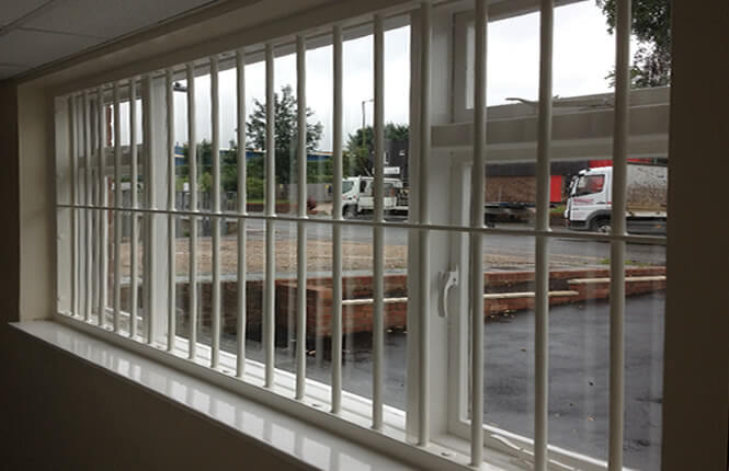 RSG2000 commercial window bars in Mitcham.