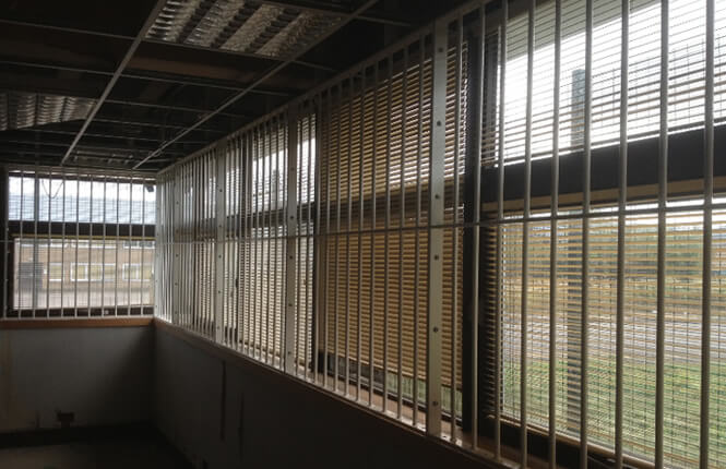 RSG2000 security window bars installed on refurbished warehouse in Kent.