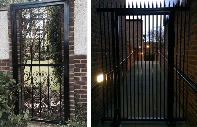 RSG3200 residential and commercial access gates.