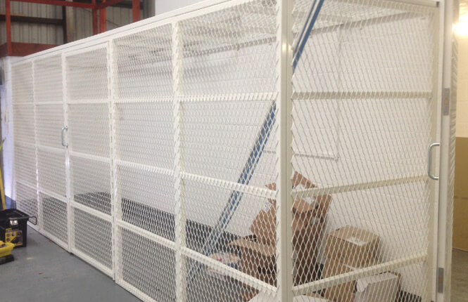 RSG4000 security enclosures in Mitcham factory.