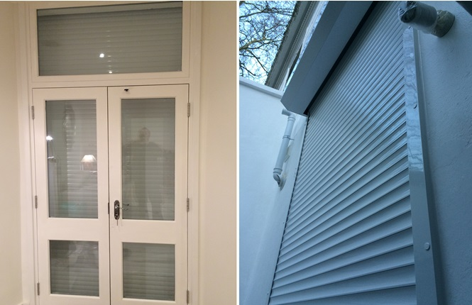 RSG5100 continental shutter solution securing residential property in Earl's Court.