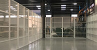commercial enclosures in workshops, warehouses & factories