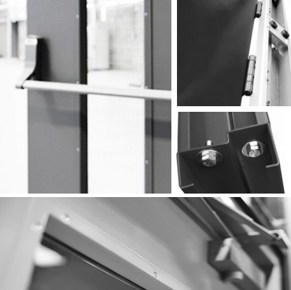 security door leaf and frame specification