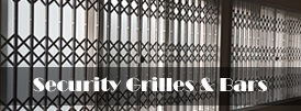 The product page of our security grilles and bars