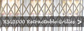 The product page of our security retractable grilles