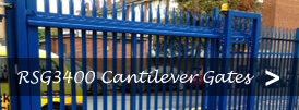 The product page of our sliding cantilever security gates