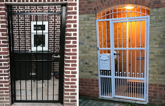 RSG3000 security gates on domestic applications in Essex.