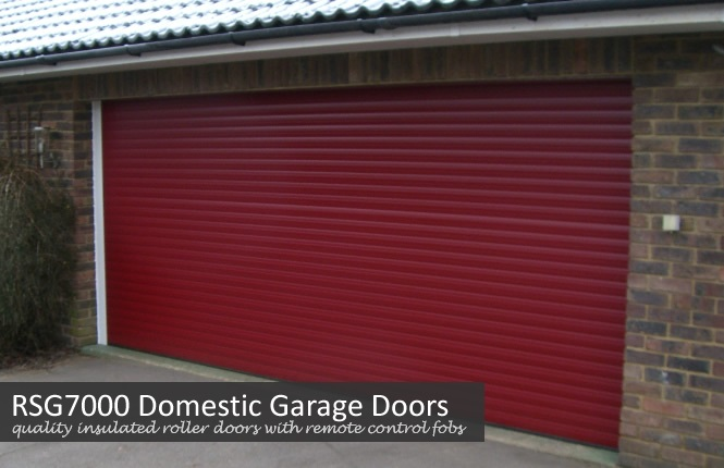 RSG7000 quality roller garage door in Cthe borough of Kensington and Chelsea.