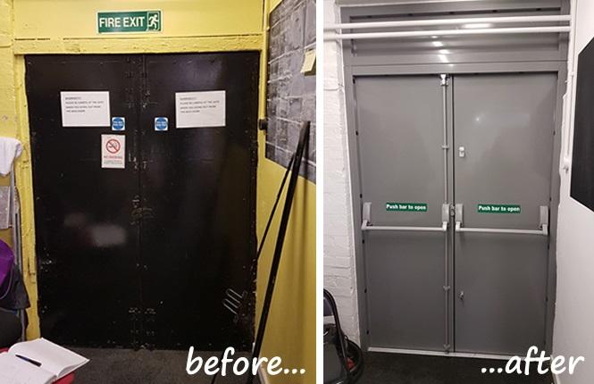 Rsg8100 Fire Exit Doors Steel Escape Doors Amp Emergency
