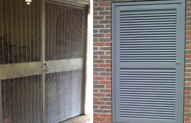 RSG8200 range of fully louvred & highly ventilated doorsets.