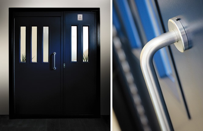 RSG8300 communal doors securing office in Harrow.