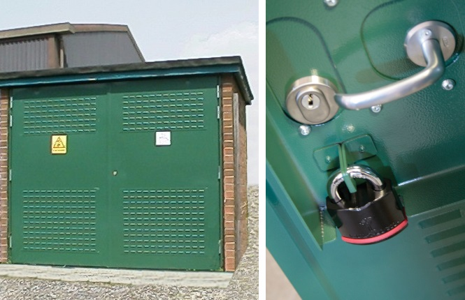 Our range of high security and substation louvre doors - RSG8900.