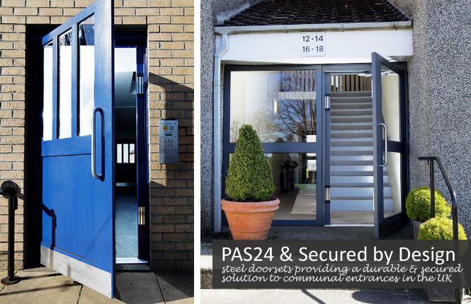 Secured by Design RSG9100 high security doors on London offices.